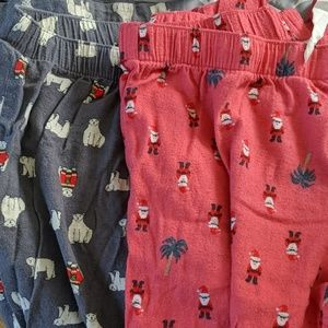 Lot of Two Old Navy Pajama Pants M